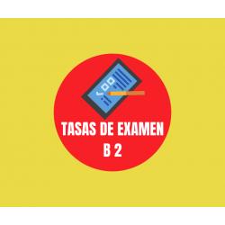 Tasas de examen B2