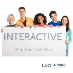 CLASES DE INGLÉS INTERACTIVE