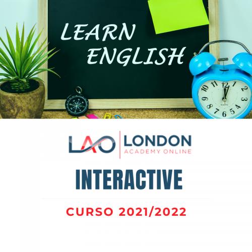 Matrícula Curso 2021/22 Interactive