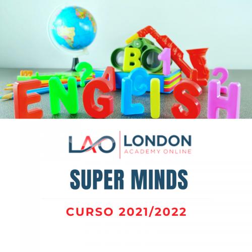 Matrícula Curso 2021/22 Super Minds